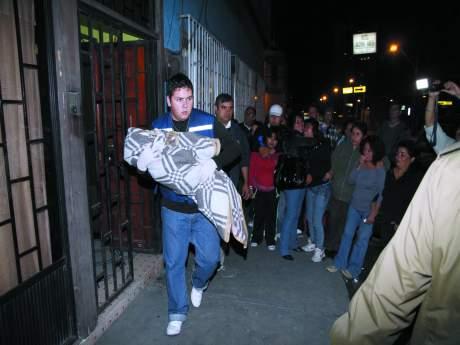 Un ciudadano peruano protagonizó un violento parricidio en Iquique, presuntamente movido por los celos y en venganza en contra de su pareja